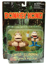 ToyDorks Toy Site Donkey Kong and Kiddy Kong