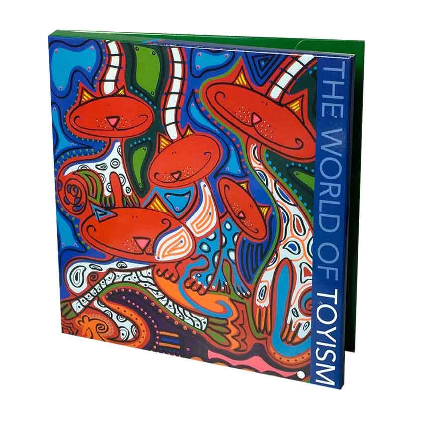 Merchandise - Art Wallet 1 - Toyism Art Movement