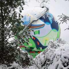 Art Wallet - Dot Snow - Toyism Art Movement
