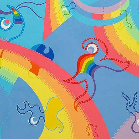 Paining - Rainbow Universe - Toyism. Buy art online.