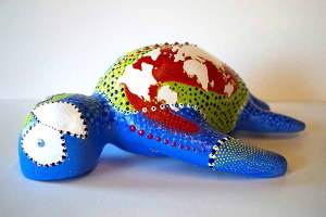 Sculpture - See Turtle 2 - Toyism Art Movement