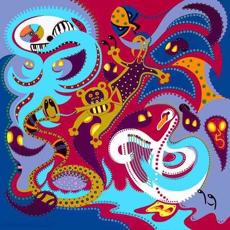 Fine Art Print - Animal Orchestra - Toyism. Art for sale. Buy bestselling art prints online.