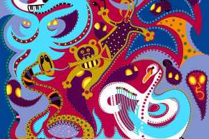 Fine Art Print - Animal Orchestra - Toyism. Art for sale. Buy bestselling art prints online.