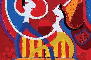Fine Art Print - Dance Love - Toyism