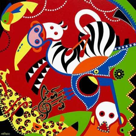 Fine Art Print - Musical Circus Art Print - Toyism