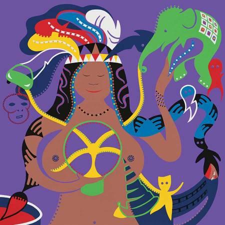 Zeefdruk - Grafiek - Moeder Inspiratiebron Zeefdruk - Toyisme. Kunst te koop. Koop kleurrijke kunstdruk online.