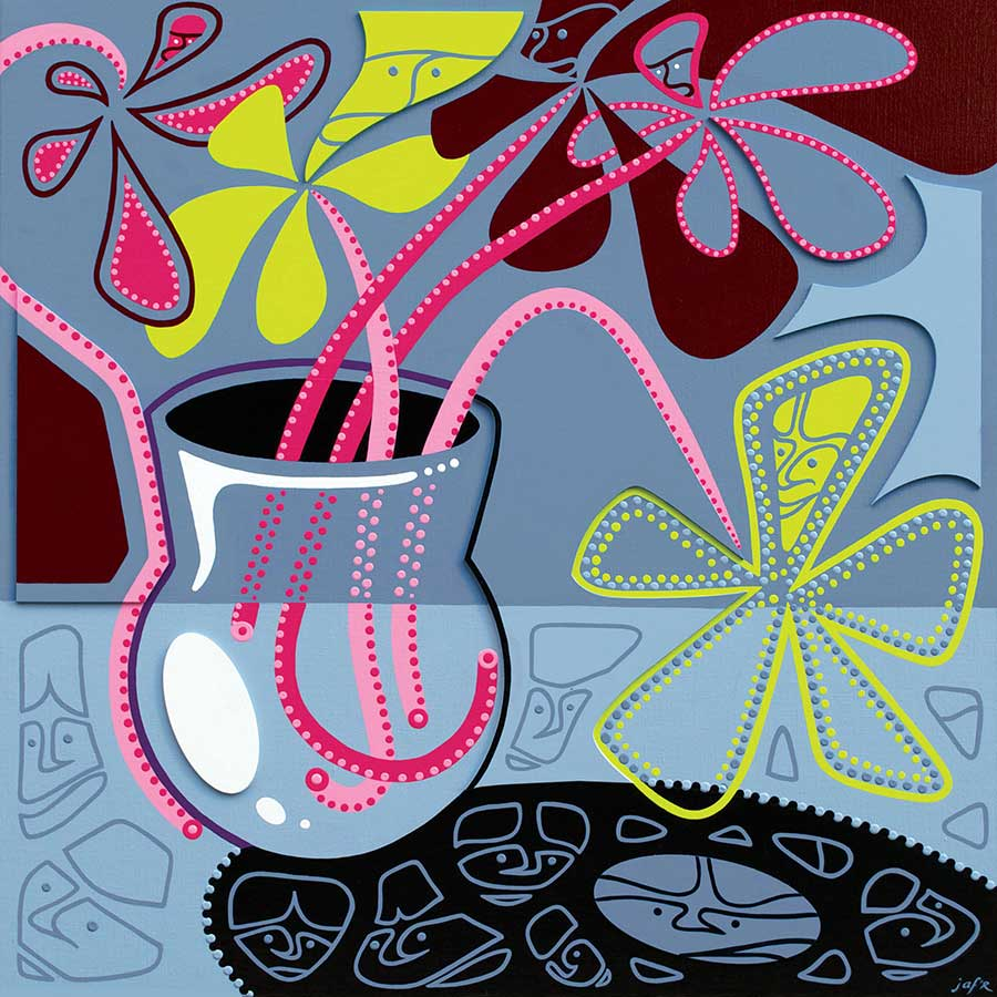 Painting - Still Life Painting - Toyism. Buy art online.