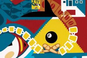 Schilderij - Zomer 13 - Toyisme. Hedendaagse kunst online kopen.