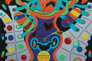 Painting - Body Hunters - Toyism. Buy art online.