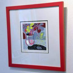 Silkscreen - Still Life - Framed - Toyism Art Movement.