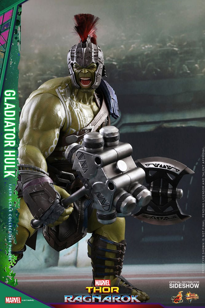 Gladiator Hulk Thor Ragnarok Movie Masterpiece Series One Sixth Scale Figure Toy Origin