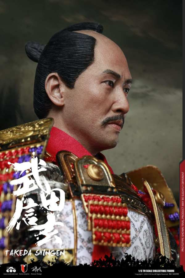 coomodel-se040-1-6-scale-series-of-empires-diecast-takeda-shingen-tiger-kai-EXCLUSIVE-img05