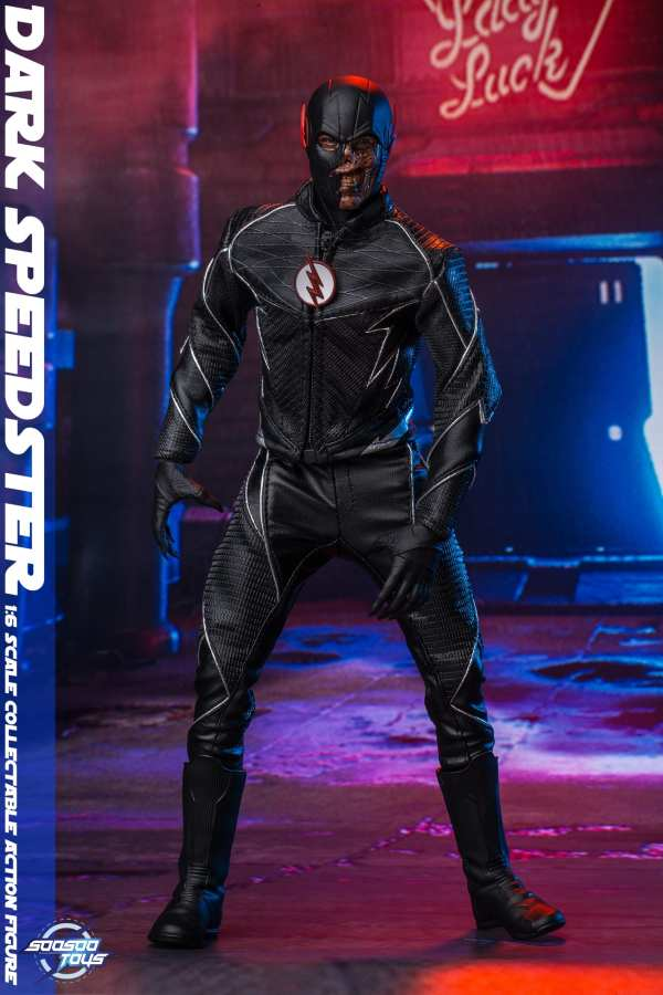 comic - NEW PRODUCT: Soosootoys: 1/6 black flash Dark speedster movable doll SST010 Soosootoys-dark-speedster-SST010-1-6-scale-figure-img12