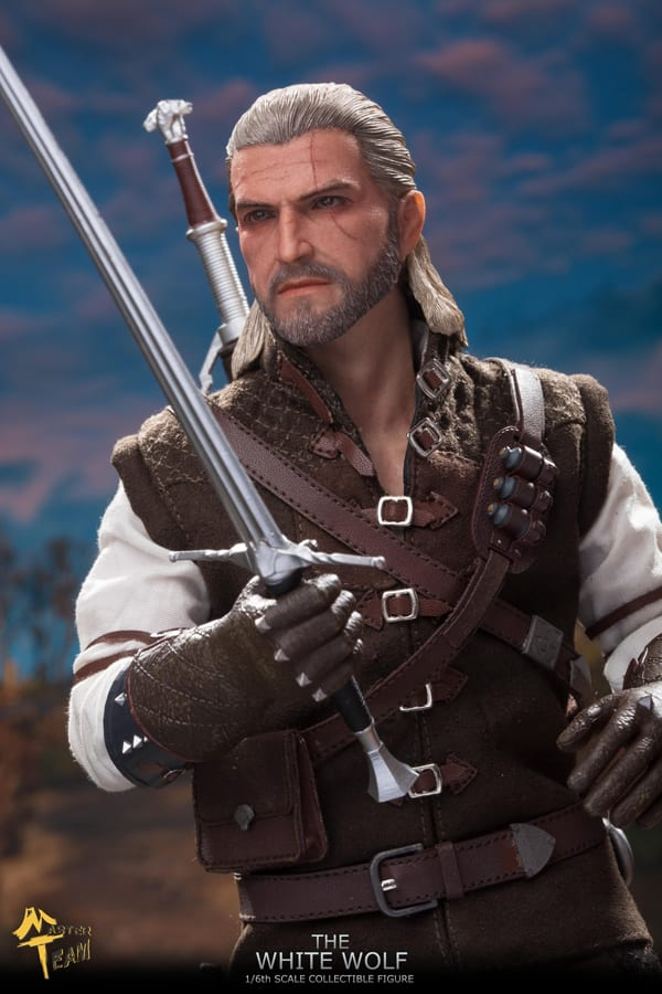 The White Wolf (Geralt of Rivia) - 1:6 Scale Figure | Toy Origin