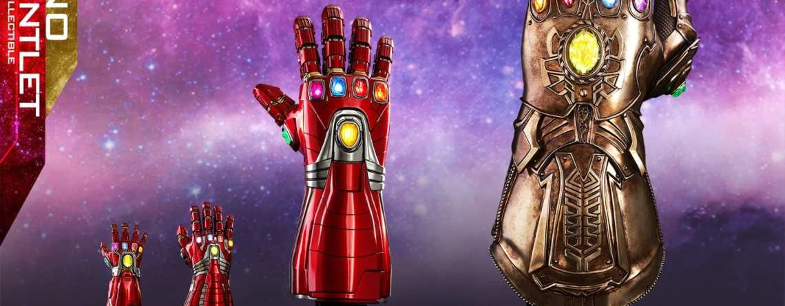 Iron Man Hot Toys Nano Gauntlet (Life-Size) Now Up For Pre