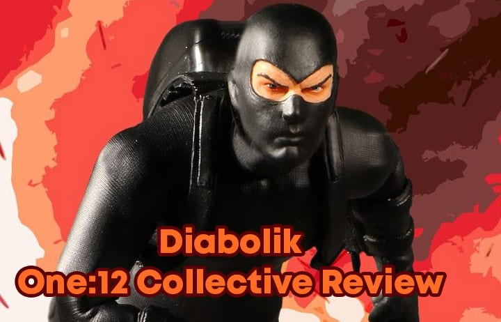 Diabolik One:12 Collective 12/' Action Figure MEZCO