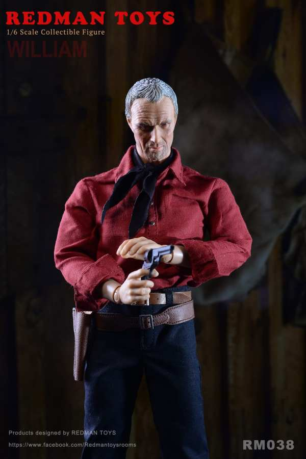 redman-toys-rm038-the-cowboy-unforgiven-william-1-6-scale-figure-sixth-scale-img04
