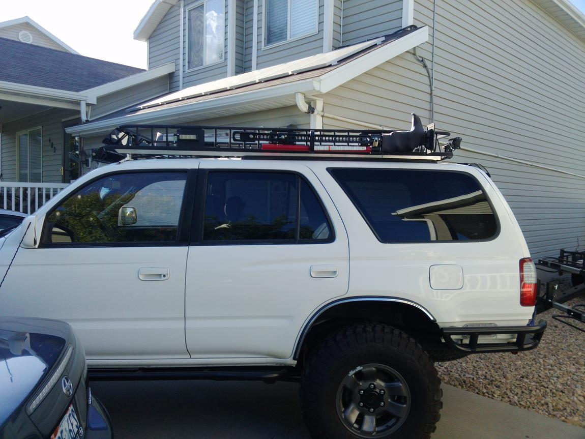 inexpensive full length roof rack curt