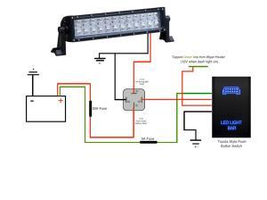 Wiring An Led Light Bar   Wiring Diagram