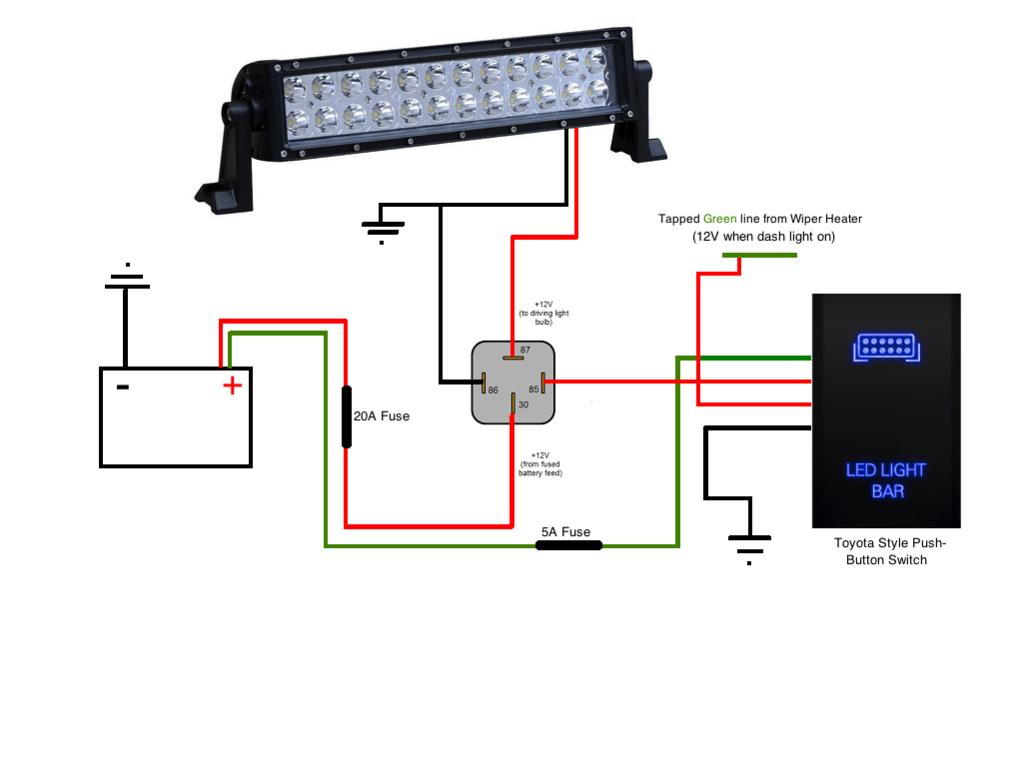 how to wire a led light bar switch image 3