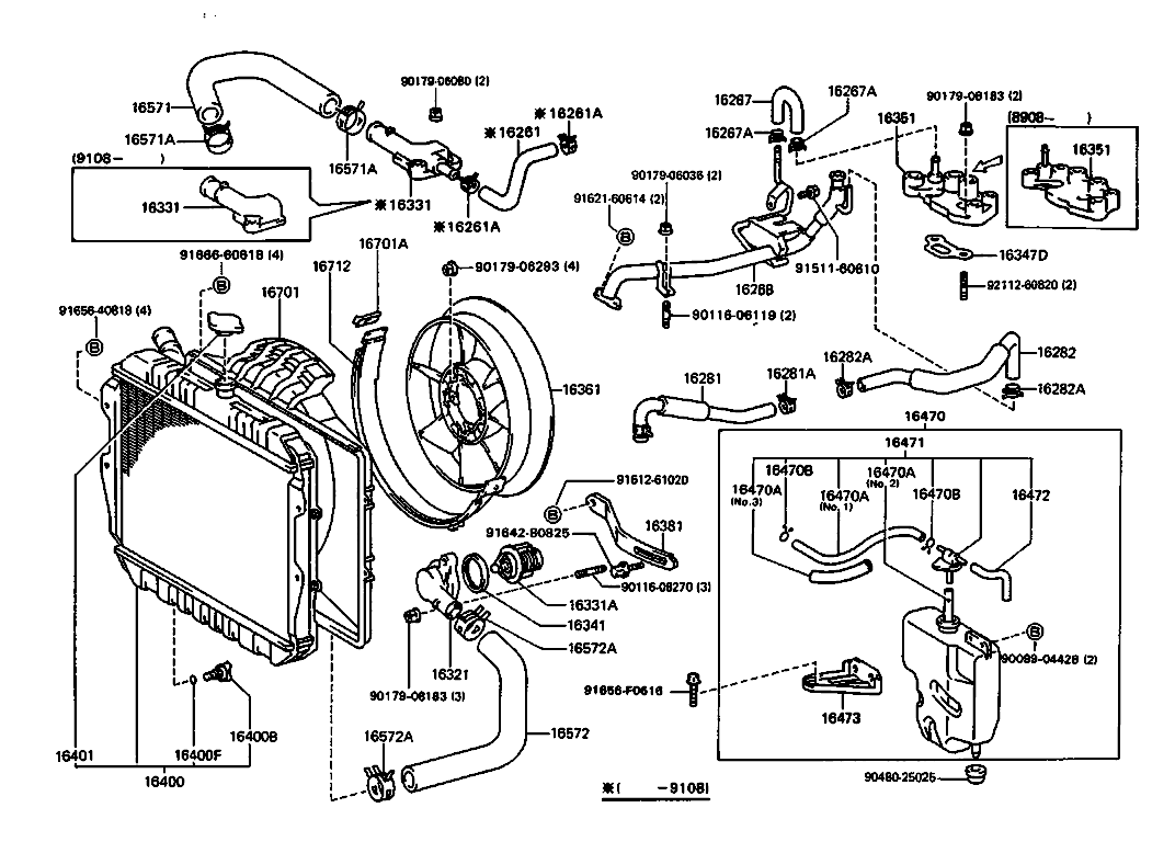 Toyotum 3vze Engine Diagram 4runner