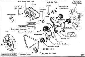 drive belt diagram 1994 v6 3vze  Toyota 4Runner Forum