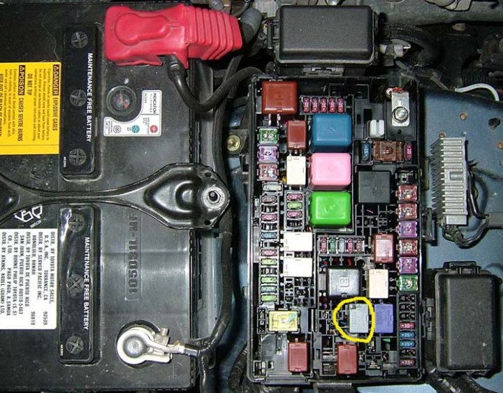 2004 Toyota 4runner Maintenance Light Flashing