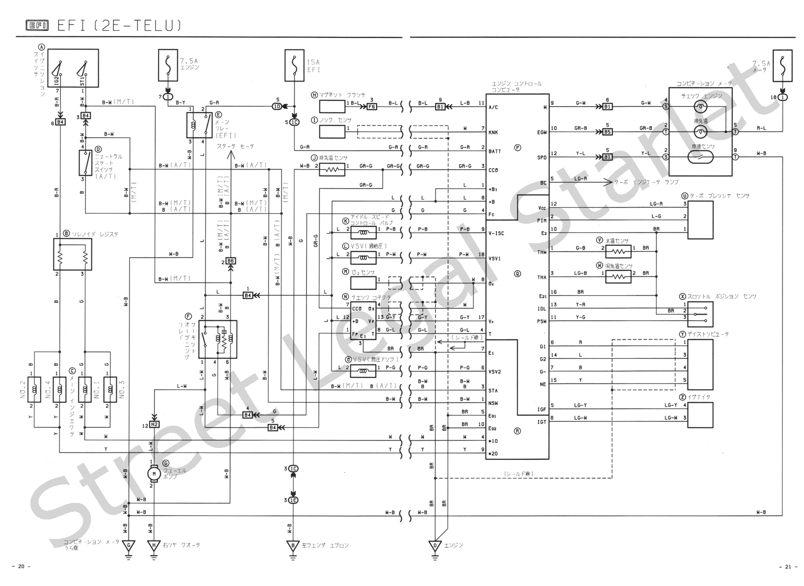 Wrg St202 Beam Wiring Diagram
