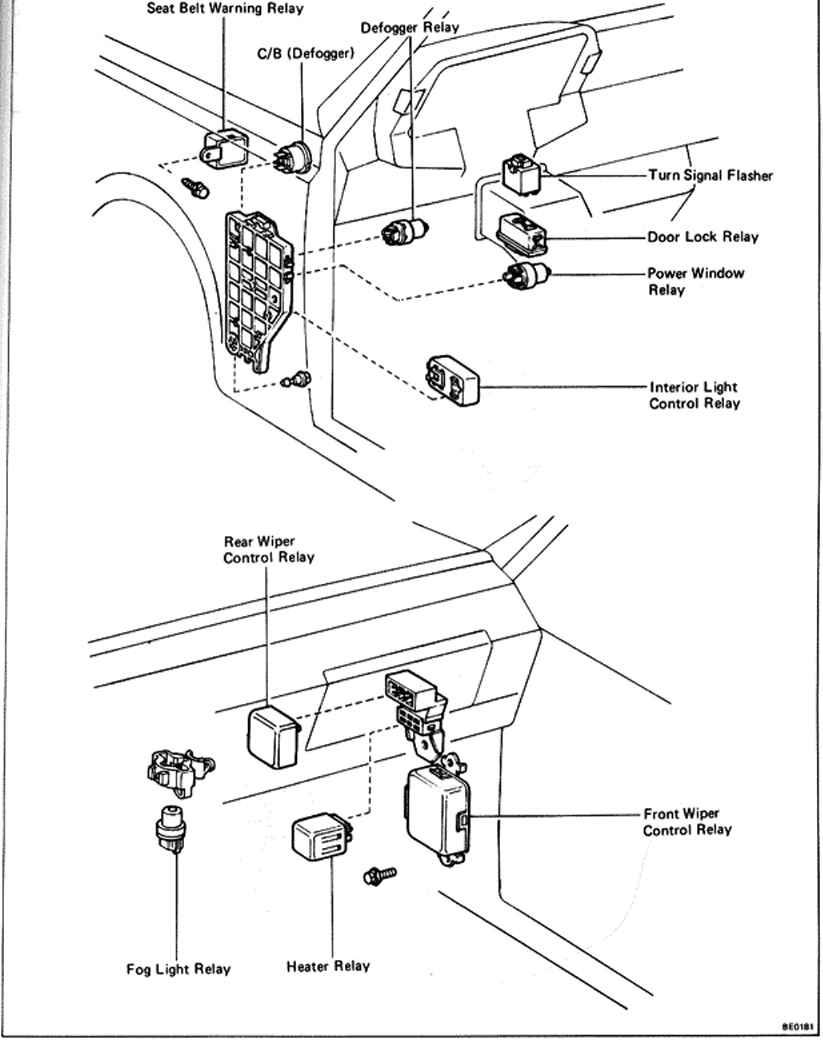 Hilux indicator flasher relay