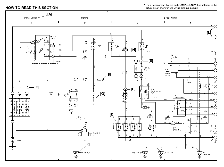 Wiring Diagram For 2004 Toyota Matrix : Toyota matrix ecu wiring diagram