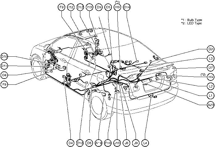 Wiring Diagram Toyota Corolla 2004