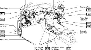 2004 Corolla Fuel Pump Relay Diagram  Toyota Corolla 2004 Wiring