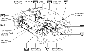 2004 Corolla Fuel Pump Relay Diagram  Toyota Corolla 2004