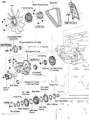 FREE ENGINE REPAIR MANUAL TOYOTA HILUX 3L  Auto