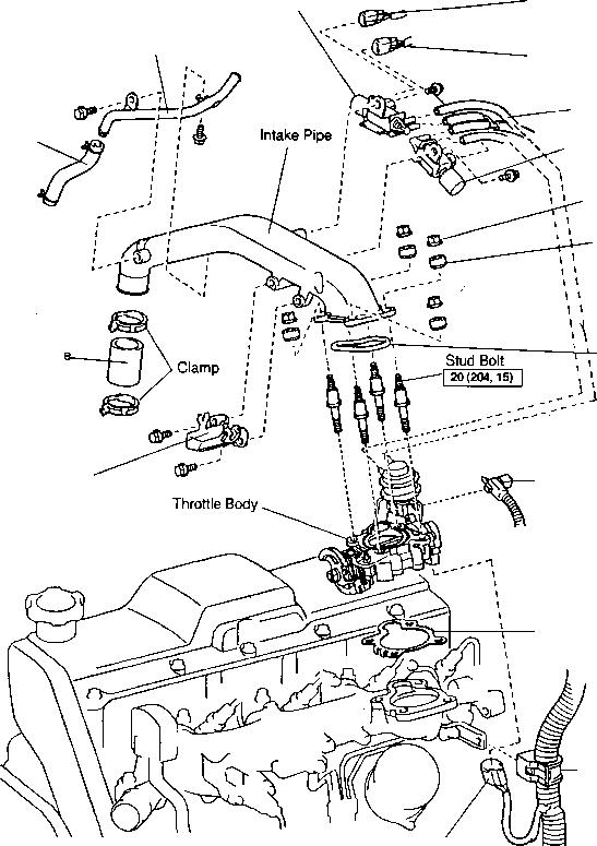 Diagram 22re Hose Diagram