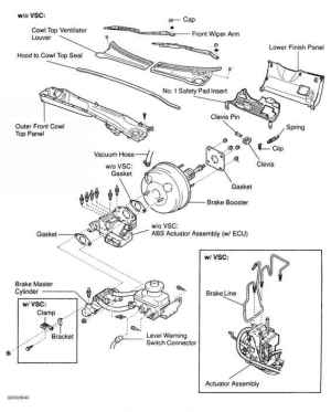 Power Brake Unit  Toyota Sequoia 2001 Repair  Toyota Service Blog
