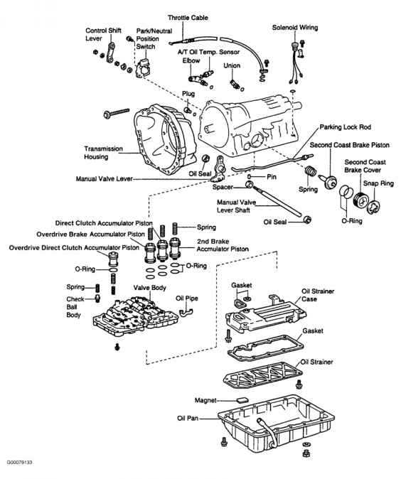 2006 Toyota 4runner Body Parts Diagram