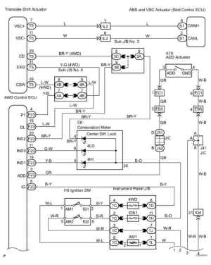 2002 Toyota Sequoia Wiring Diagram  Toyota Sequoia 2006