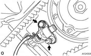 Camshaft Position Sensor  Toyota Sequoia 2006 Repair