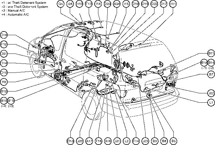 Toyota Rav4 Body Parts Diagram