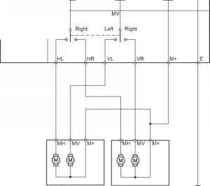 2012 Toyota Taa Power Side Mirror Switch Wiring  Toyota Yaris Manual
