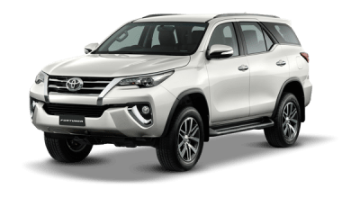 Fortuner White Pearl CS