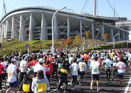 第33回豊田マラソン大会の写真