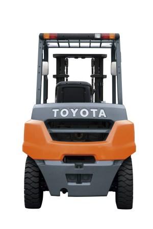 Toyota 35  50 Tonne 8Series 4Wheel Forklift  Toyota