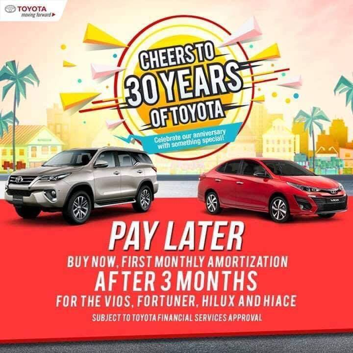 october 2018 pay later promo