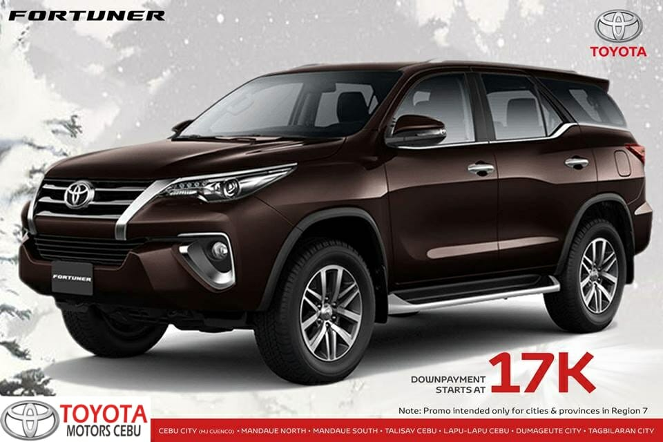 Toyota Fortuner November 2018 All In Promo