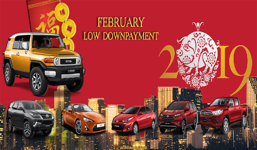 Toyota Cebu February 2019 Latest Promo