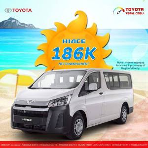 toyota hiace april 2019 promo