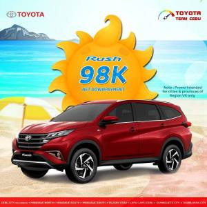 toyota rush april 2019 promo