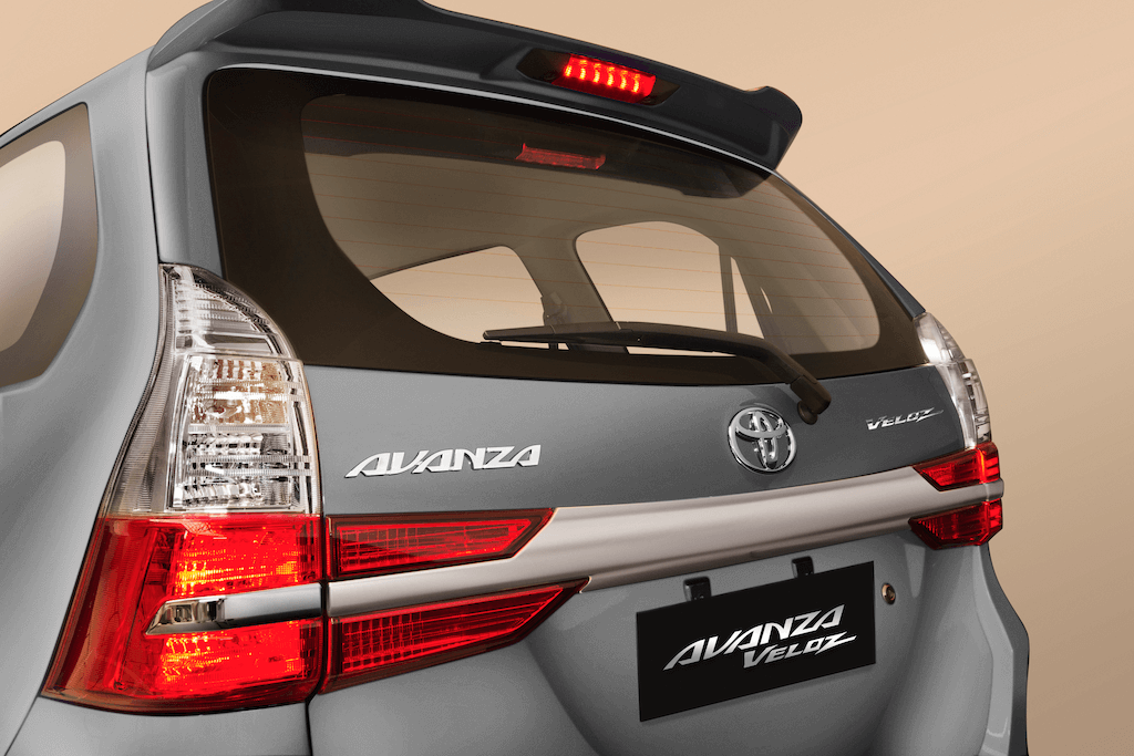 Toyota Avanza 2019 Sporty Rear
